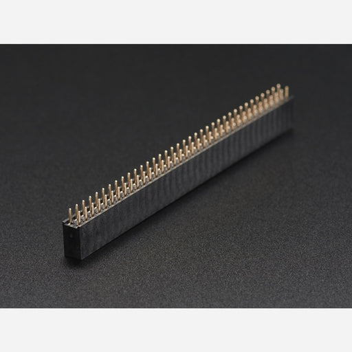 0.1 2x36-pin Strip Straight Socket (Female) Header (5 pack)