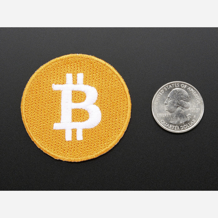 Bitcoin - Skill badge, iron-on patch
