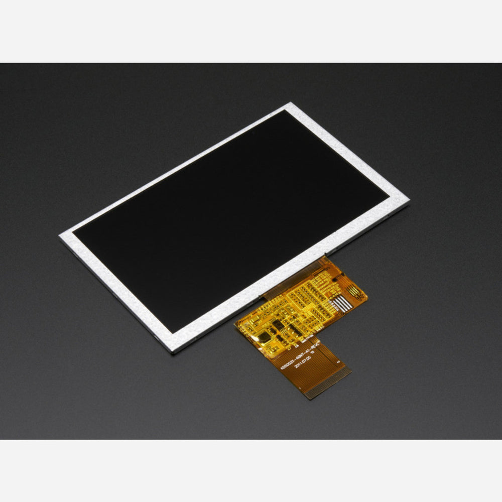 5.0 40-pin 800x480 TFT Display without Touchscreen