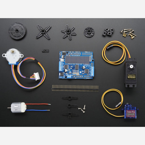 Motor party add-on pack for Arduino