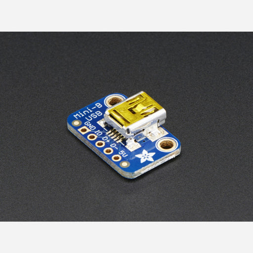 USB Mini-B Breakout Board