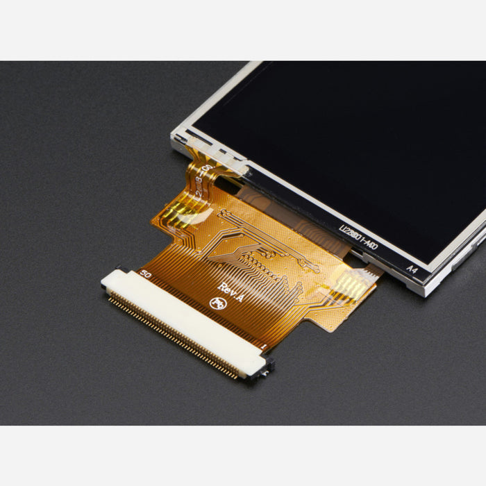 2.8 TFT Display with Resistive Touchscreen