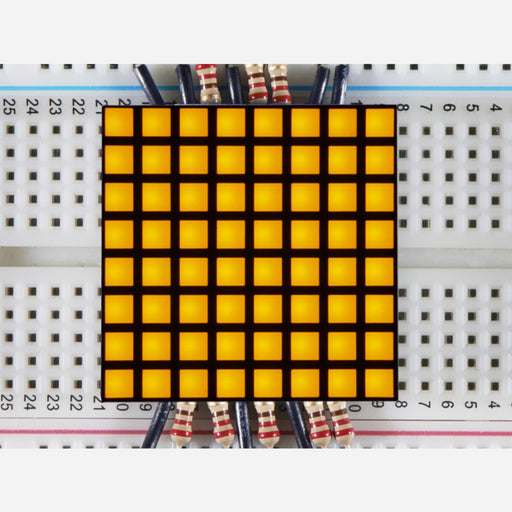 1.2 8x8 Matrix Square Pixel - Yellow [KWM-R30881CUYB]