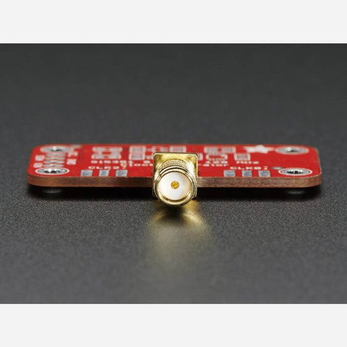 Edge-Launch SMA Connector for 1.6mm / 0.062 Thick PCBs