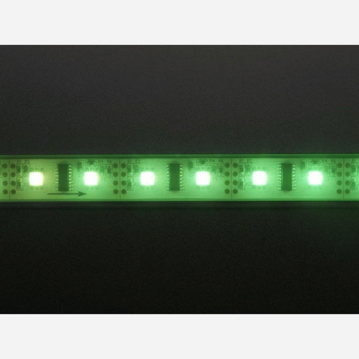 Digital RGB LED Weatherproof Strip - LPD8806 x 48 LED [LPD8806]