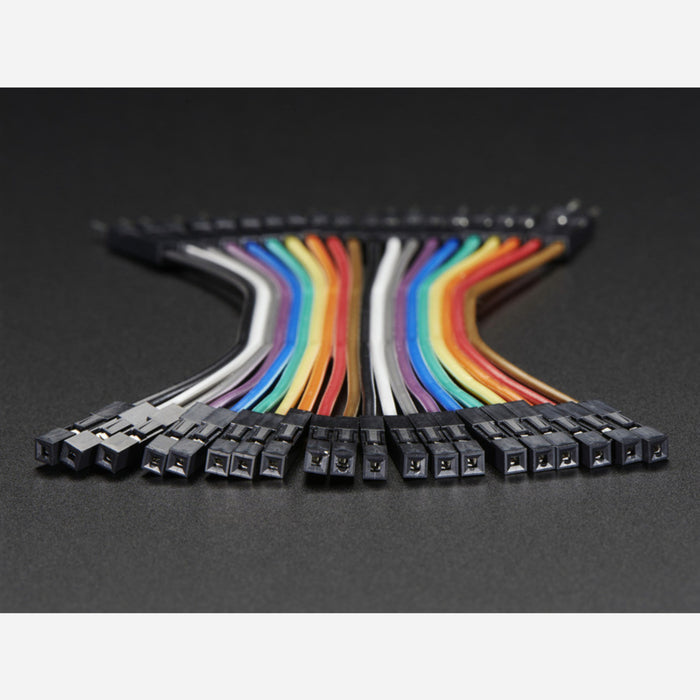 Premium Female/Male 'Extension' Jumper Wires - 20 x 3
