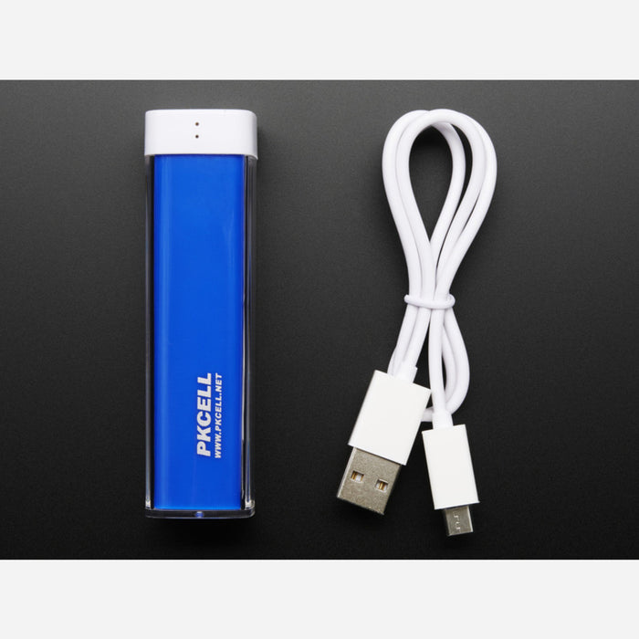 USB Battery Pack - 2200 mAh Capacity - 5V 1A Output