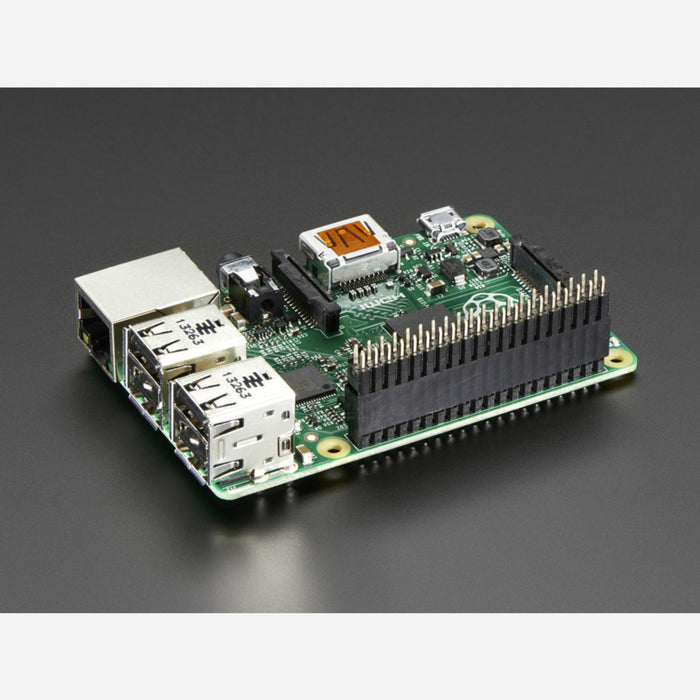GPIO Header for RaspberryPi A+/B+/Pi 2/Pi 3 [Tall 2x20 Female Header]
