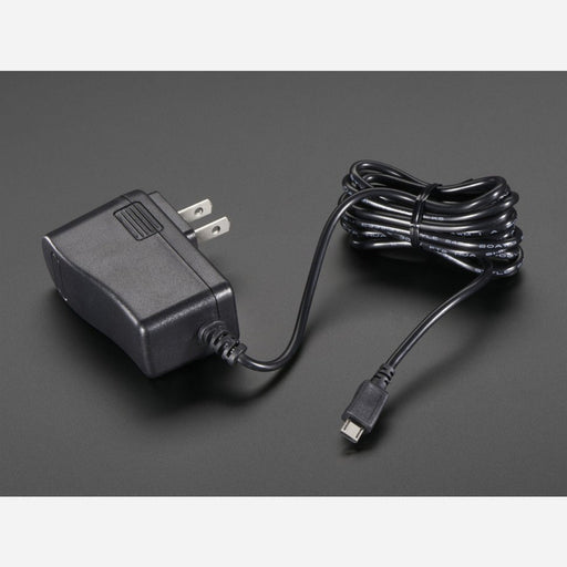 5V 2.4A Switching Power Supply with 20AWG MicroUSB Cable