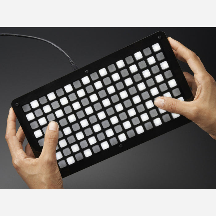 Adafruit HELLA UNTZtrument! Open-Source 16x8 Grid Controller Kit [White LEDs]