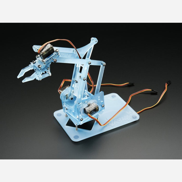Phenoptix MeArm Pocket Sized Robot Arm Kit - Powder Blue v0.4 [PBLU v0.4]
