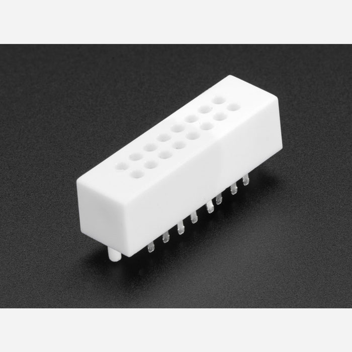 Mini Solderless Breadboard - 2x8 Points