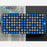 16x8 1.2 LED Matrix + Backpack - Ultra Bright Square Blue LEDs