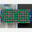 16x8 1.2 LED Matrix + Backpack - Ultra Bright Square Green LEDs