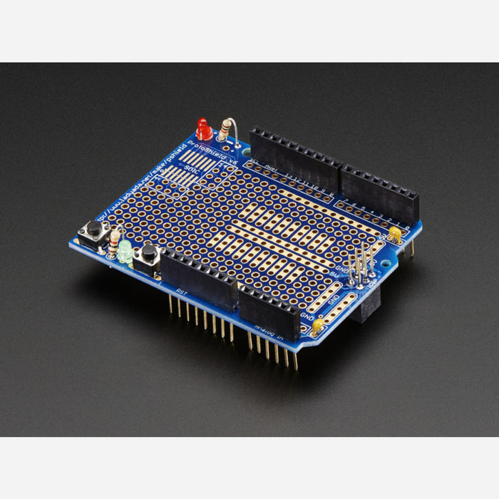 Adafruit Proto Shield for Arduino Kit - Stackable Version R3