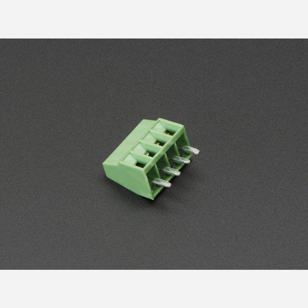 2.54mm/0.1 Pitch Terminal Block - 4-pin