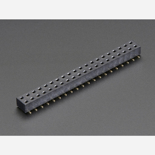 SMT GPIO Header for Raspberry Pi HAT - 2x20 Short Female Header