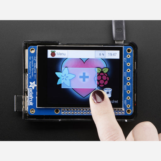 Adafruit PiTFT Plus 320x240 2.8 TFT + Capacitive Touchscreen