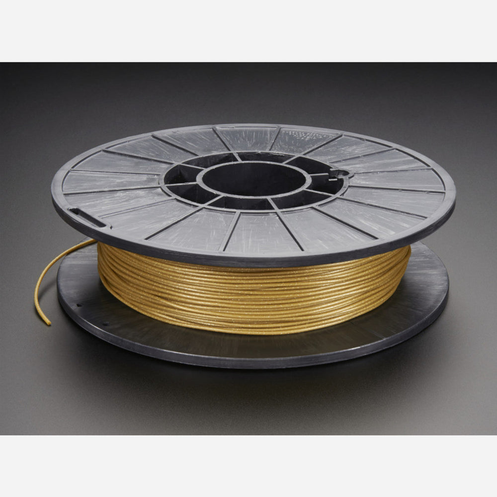 NinjaFlex - 1.75mm Diameter - Satin Sheen Gold - .50 Kg