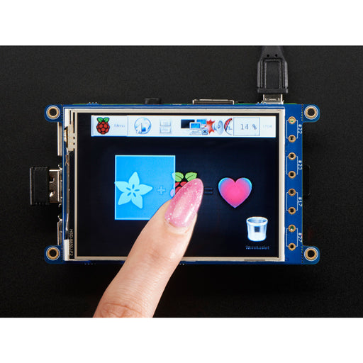 PiTFT Plus 320x240 3.2 TFT + Resistive Touchscreen