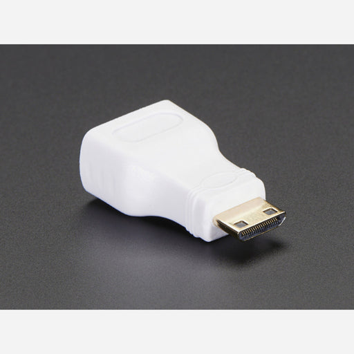 Mini HDMI Plug to Standard HDMI Jack Adapter
