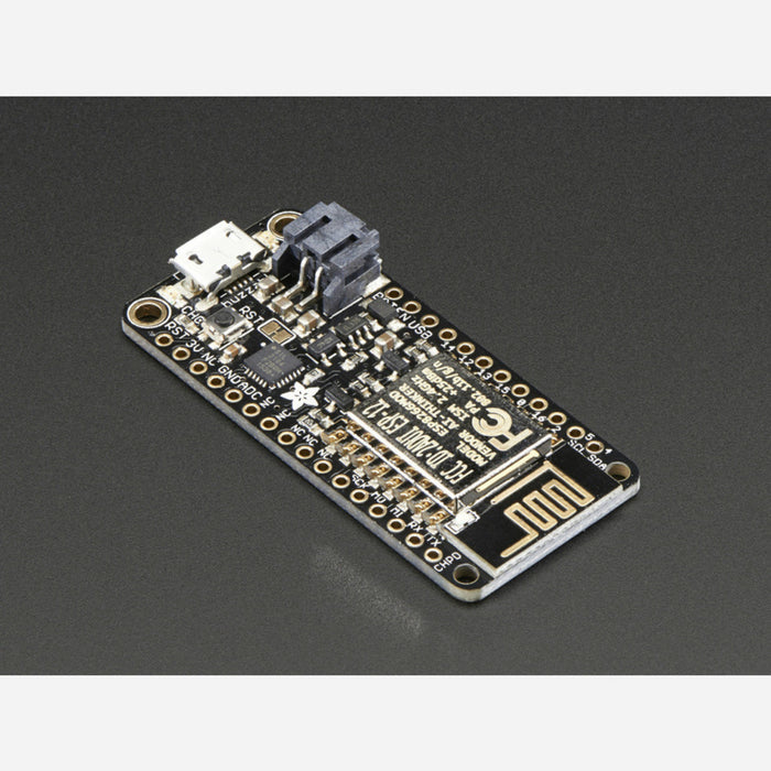 Adafruit Feather HUZZAH with ESP8266 WiFi