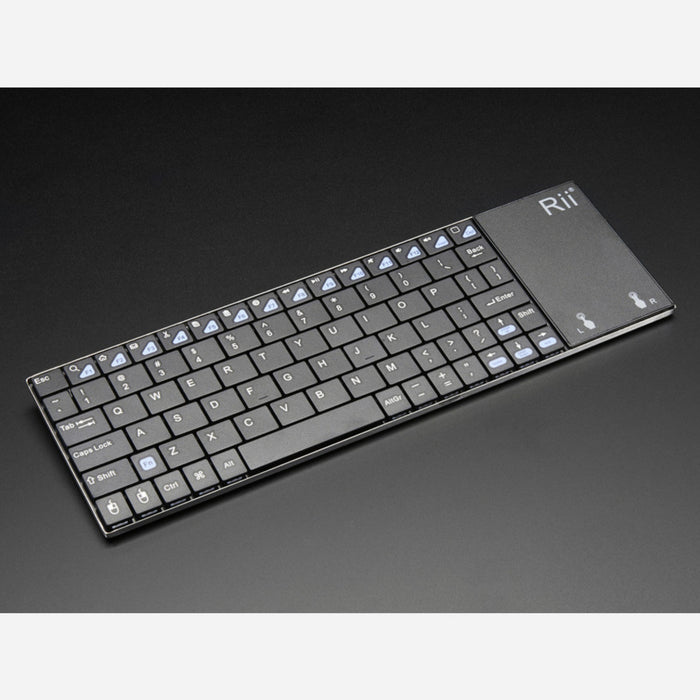 Full Size Wireless Keyboard with Trackpad