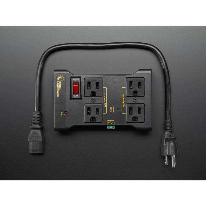 Controllable Four Outlet Power Relay Module [(Power Switch Tail Alternative)]