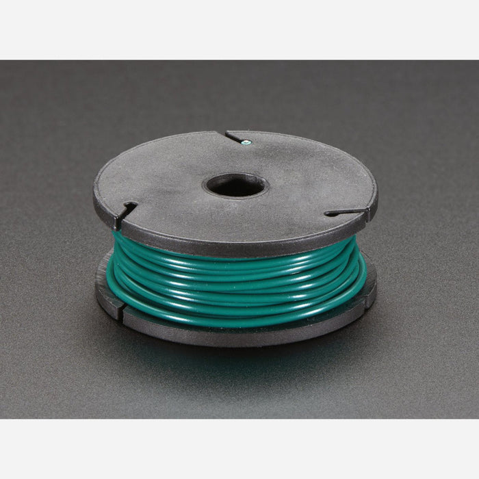 Stranded-Core Wire Spool - 25ft - 22AWG - Green