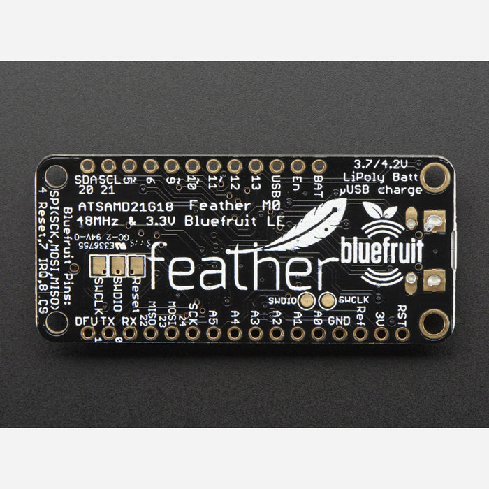 Adafruit Feather M0 Bluefruit LE