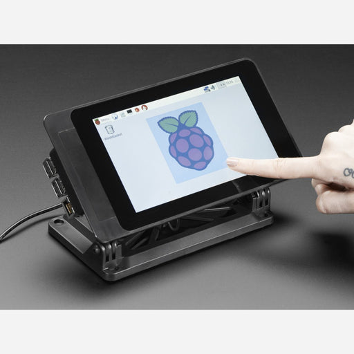 SmartiPi Touch - Stand for Raspberry Pi 7 Touchscreen Display