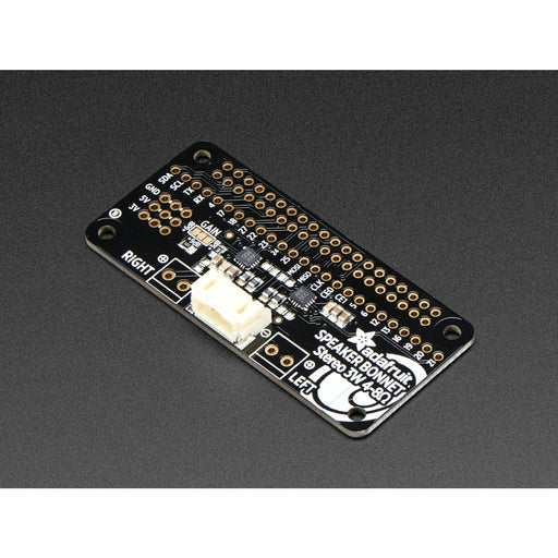 Adafruit I2S 3W Stereo Speaker Bonnet for Raspberry Pi [Mini Kit]