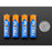 Alkaline AA batteries (LR6) - 4 pack