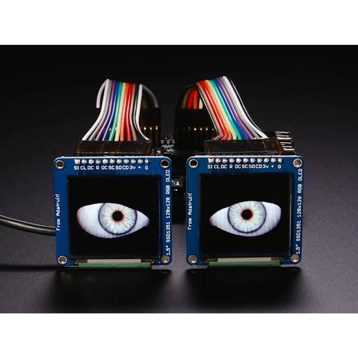 Adafruit Animated Eyes Bonnet for Raspberry Pi Mini Kit [Without Displays]