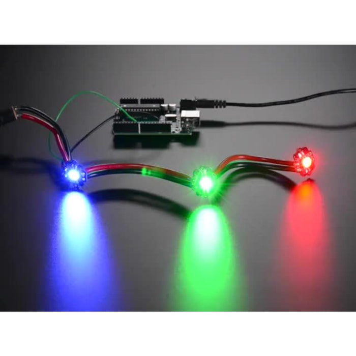 Adafruit LED Sequins - Multicolor Pack of 5