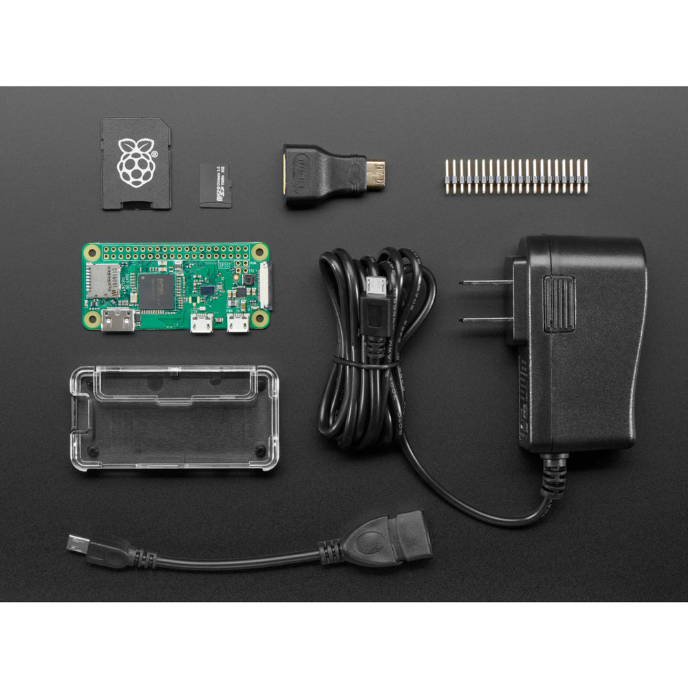 Raspberry Pi Zero W Budget Pack - Includes Pi Zero W