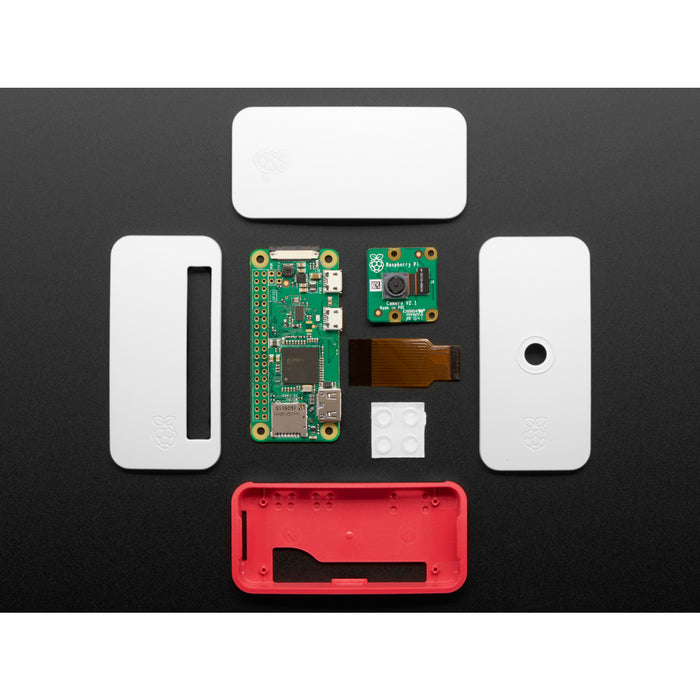 Raspberry Pi Zero W Camera Pack - Includes Pi Zero W