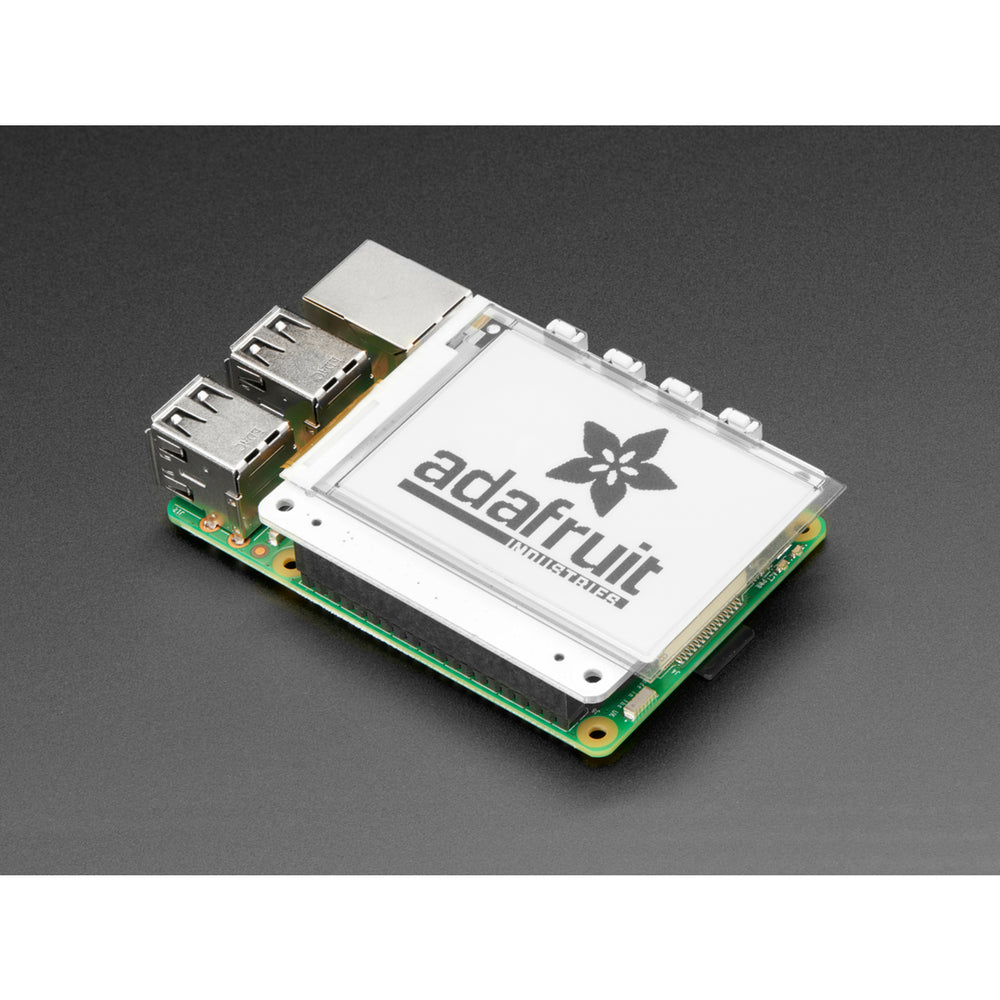PaPiRus 2.7 eInk Display HAT for Raspberry Pi from Pi Supply