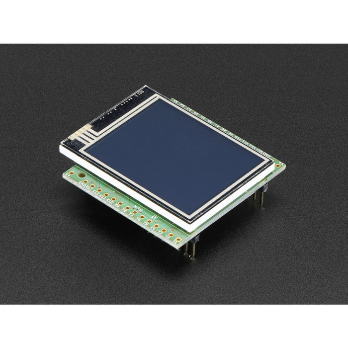 pyboard Color LCD Skin with Resistive Touch