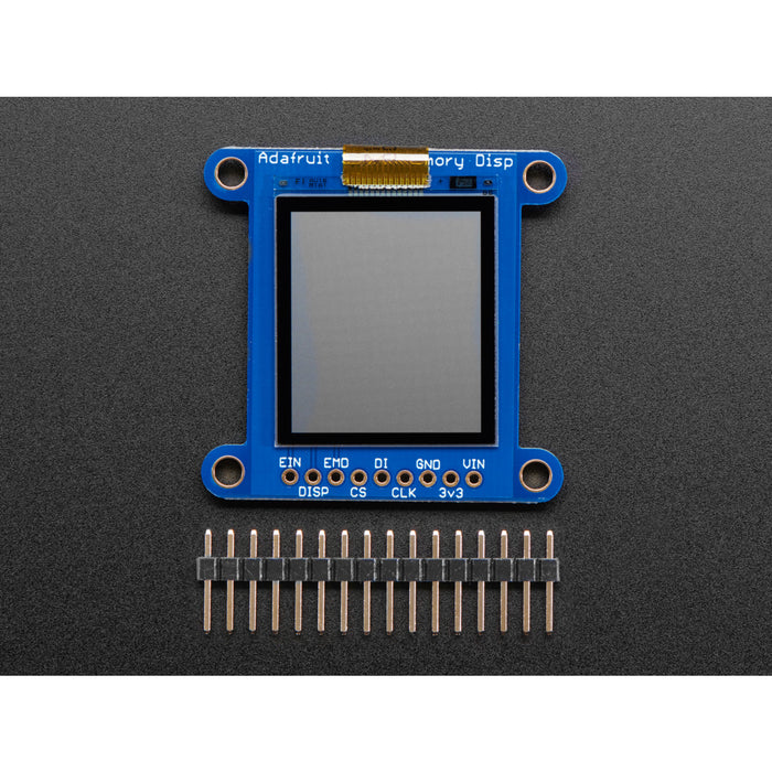 Adafruit SHARP Memory Display Breakout - 1.3 168x144 Monochrome