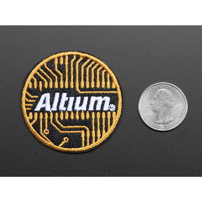 Altium - Skill badge, iron-on patch