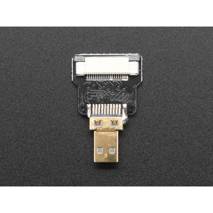 DIY HDMI Cable Parts - Straight Micro HDMI Plug Adapter