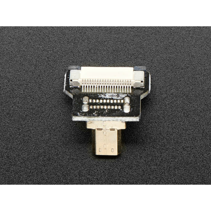 DIY HDMI Cable Parts - Right Angle (R Bend) Micro HDMI Plug