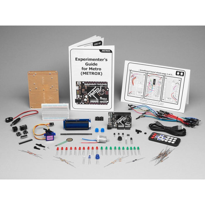 Adafruit MetroX Classic Kit - Experimentation Kit for Metro