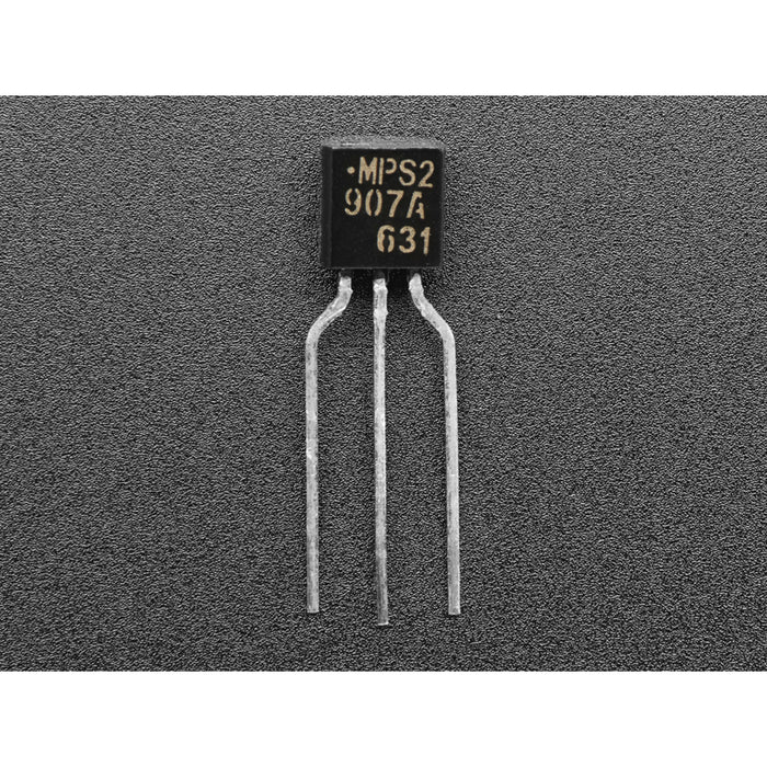 Bipolar Transistor Kit - 5 x PN2222 NPN and 5 x PN2907 PNP