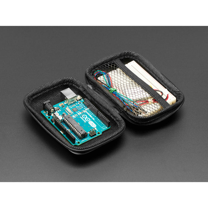 Maker-Friendly Zipper Case - Light Blue