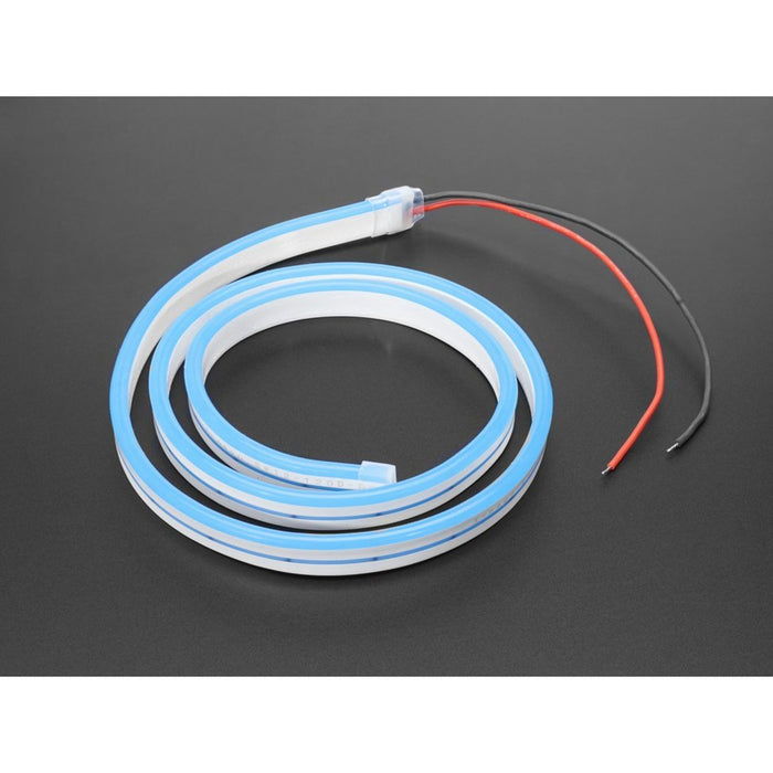 Flexible Silicone Neon-Like LED Strip - 1 Meter - Blue