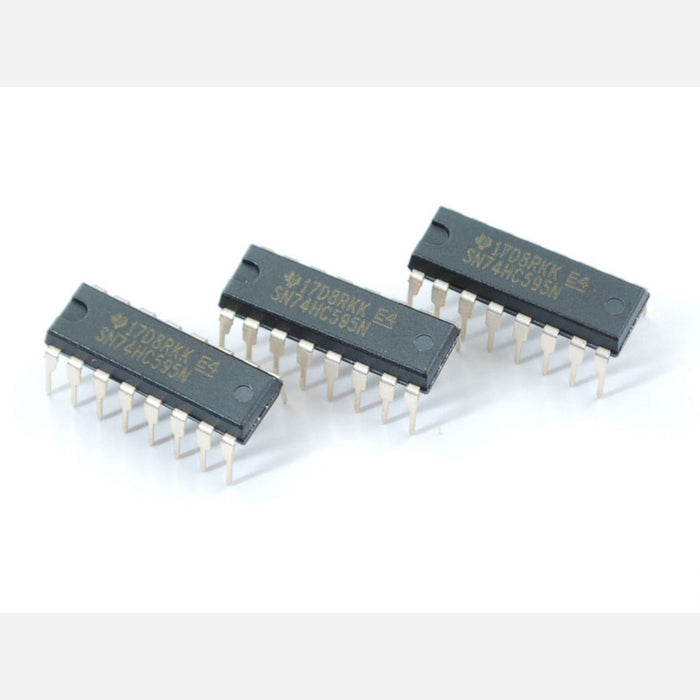 74HC595 Shift Register - 3 pack