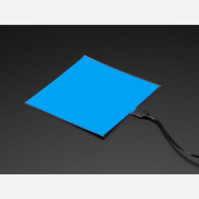 Electroluminescent (EL) Panel - 10cm x 10cm Blue