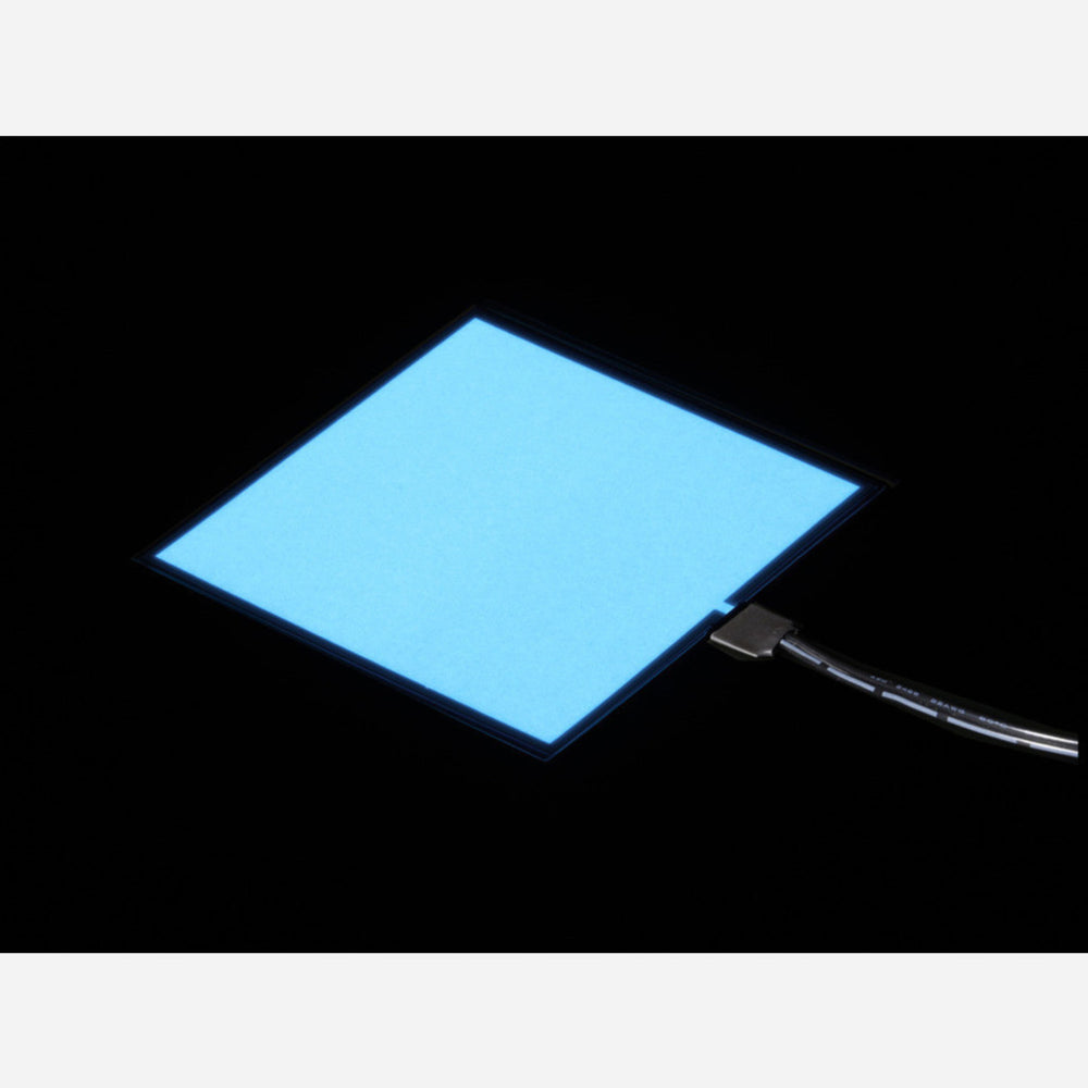 Electroluminescent (EL) Panel - 10cm x 10cm White